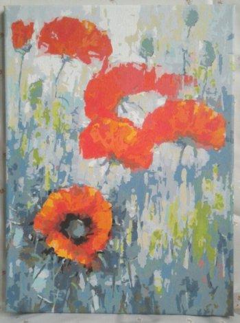 """Картина по номерам """"Полдень"""" 058-AS, нарисованная покупателем"""