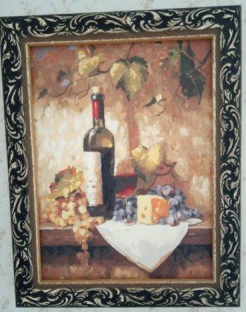 """Картина по номерам """"Натюрморт"""" 108-AS, нарисованная покупателем"""