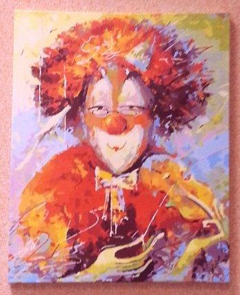"Картина по номерам ""Маэстро"" 134-AS, нарисованная покупателем"