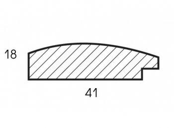 Размеры багетной рамы Sandra (серебро)