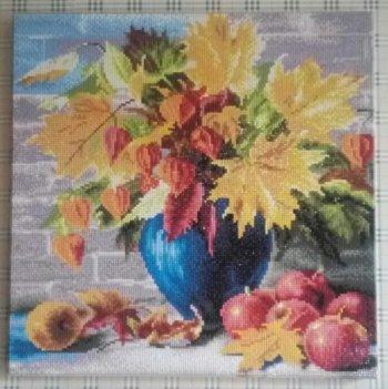 """Мозаика на подрамнике """"Сентябрь"""" 204-ST-S, выложенная покупателем"""