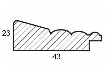 Размеры багетной рамы Diana