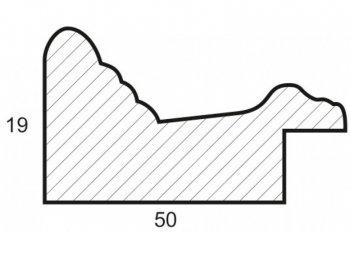 Размеры багетной рамы Clara
