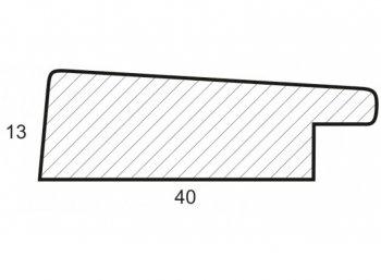 Размеры багетной рамы Emma (бежевый)
