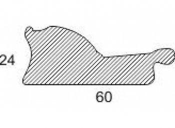 Размеры багетной рамы Patricia