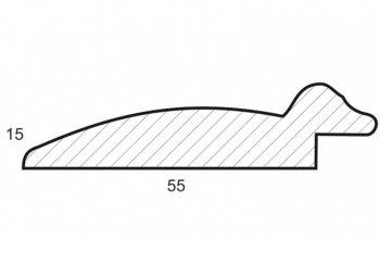 Размеры багетной рамы Janet
