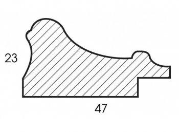 Размеры багетной рамы Rococo
