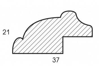 Размеры багетной рамы Academic