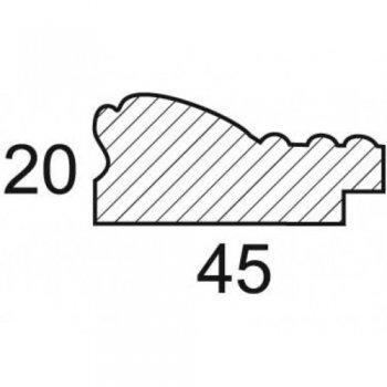 Размеры багетной рамы Angelica