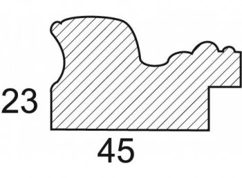 Размеры багетной рамы Constance
