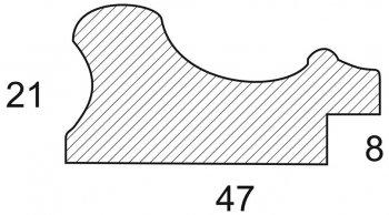 Размеры багетной рамы Marta