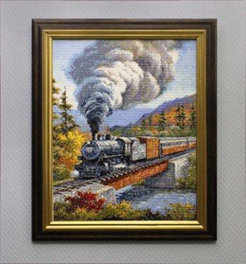 """Мозаичная картина Ag 075 """"Путешествие"""" в раме"""