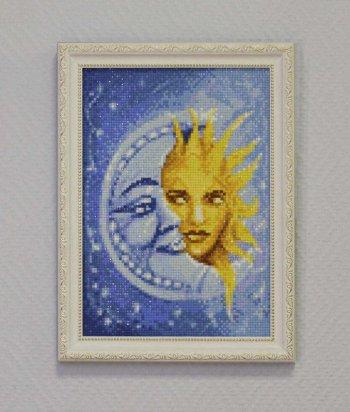 """Мозаичная картина Ag 103 """"Магия светил"""" в раме"""