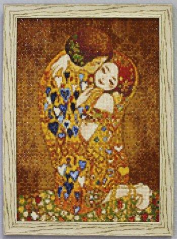 """Мозаичная картина Ag 112 """"Наедине"""" в раме"""