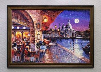 "Мозаичная картина Ag 117 ""Римские каникулы"" в раме"