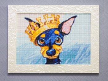 """Мозаичная картина Ag 182 """"Король ринга"""" в раме"""
