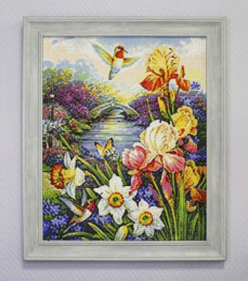 "Мозаичная картина Ag 2242 ""Сбор нектара"" в раме"