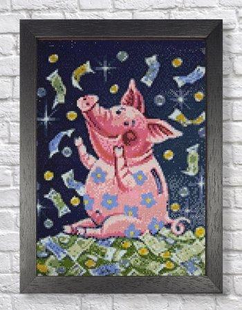 "Мозаичная картина Ag 2285 ""К богатству"" в раме"