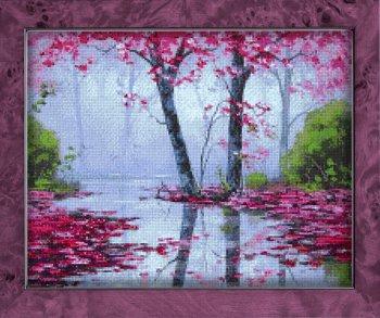 """Мозаичная картина Ag 2318 """"Цвета осени"""" в раме"""