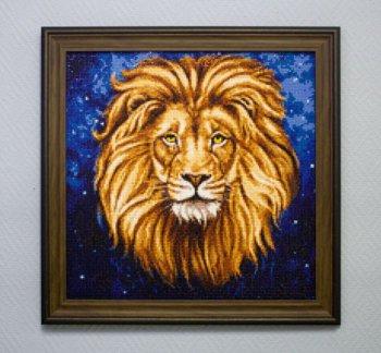 "Мозаичная картина Ag 587 ""Созвездие льва"" в раме"