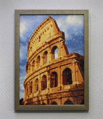 """Мозаичная картина Ag 700 """"Колизей"""" в раме"""