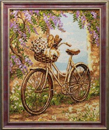"""Мозаичная картина Ag 715 """"Поездка в город"""" в раме"""