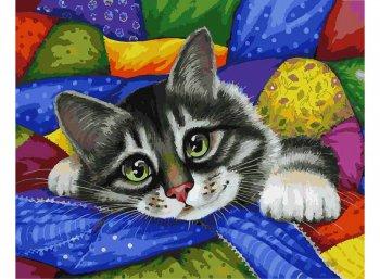 Котик в лоскутках