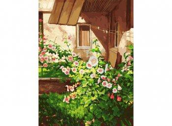 Куст шток розы