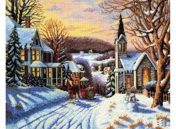 Зима в городке