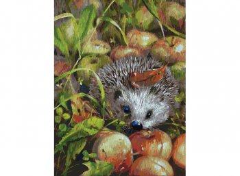 Яблочный ёжик