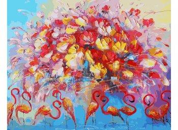 Танец красного фламинго