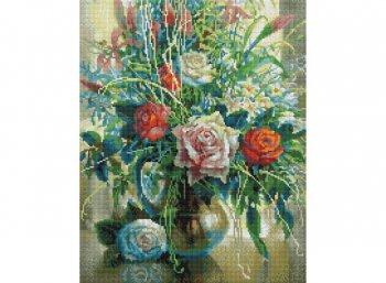 Натюрморт с белой розой