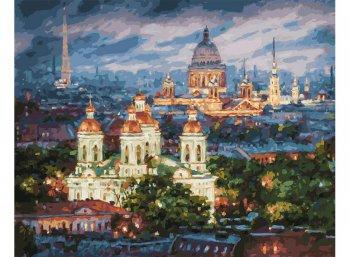 Все краски вечера. Санкт-Петербург