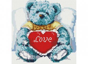 Медвежонок с сердцем