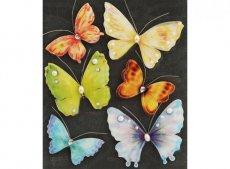 Бабочки с бусинками