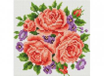 Розы и фиалки