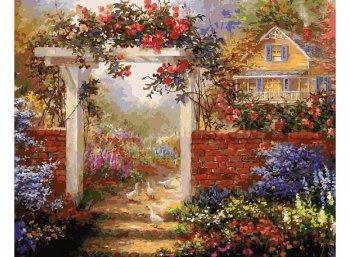 Цветущая усадьба