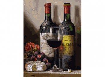 Вино, сыр и виноград