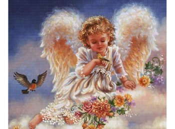Ангел с птичками