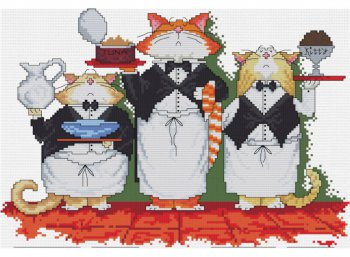 Коты официанты