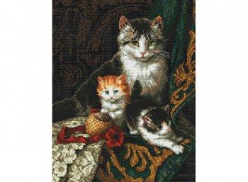 Кошачье трио
