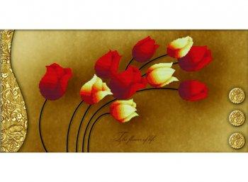 Тюльпаны на золотом