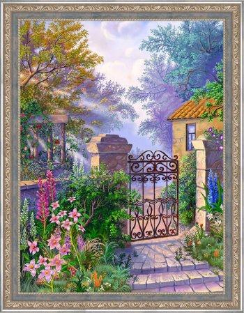 Калитка в саду