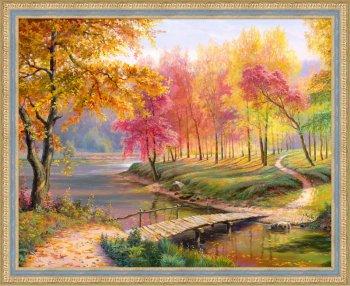 Осень в старом парке