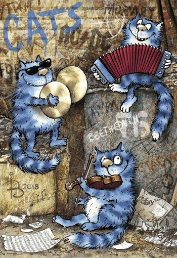 В джазе только котики