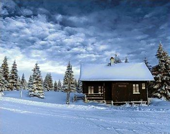 Долина снега