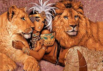 Богиня Африки