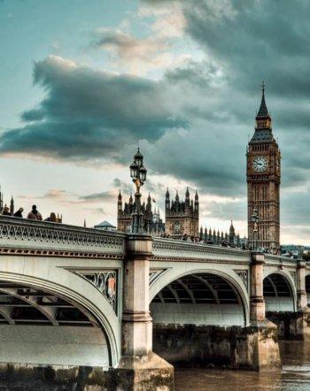 Небо над Лондоном