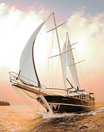 Быстрая яхта