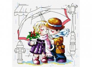 Романтика под зонтиком
